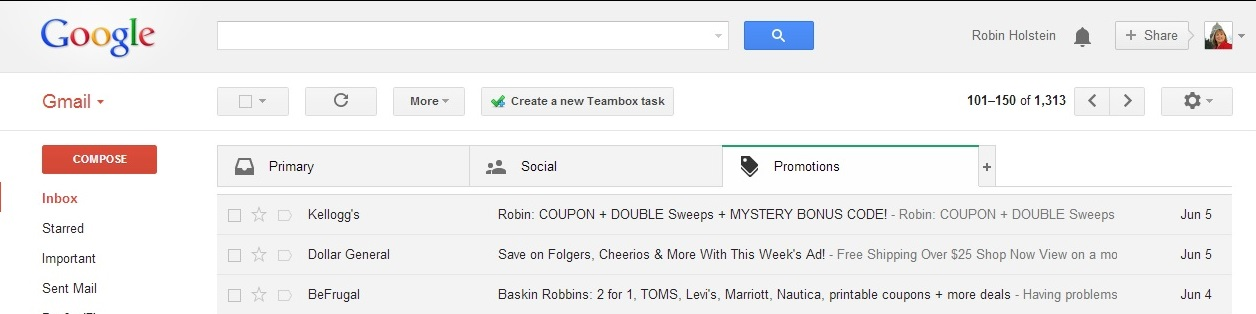 A new way to manage your Google mail.