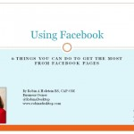 Get the most from Facebook Pages