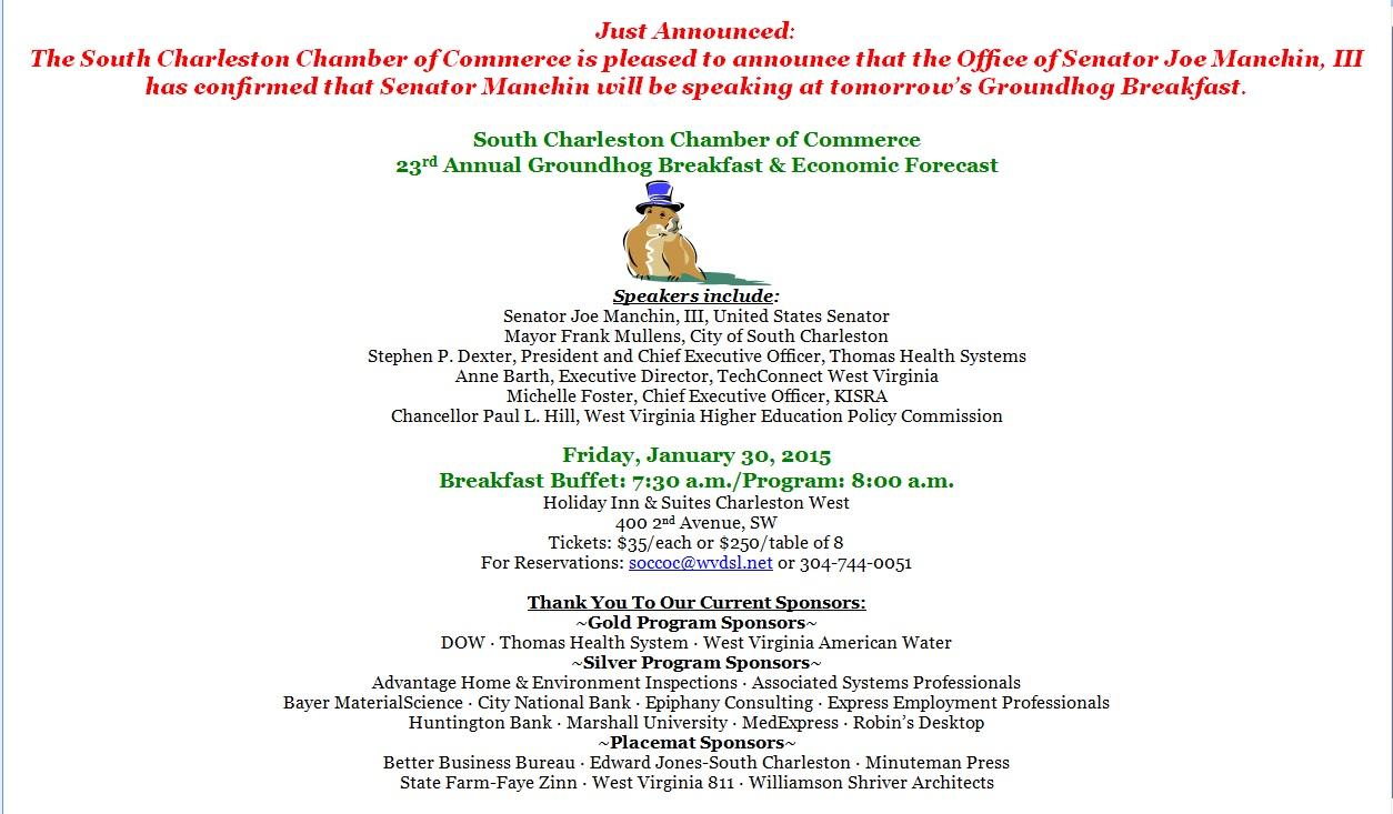 2015 Groundhog Manchin